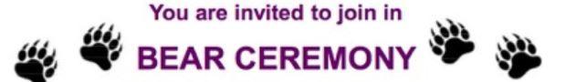 Bear Ceremony Logo